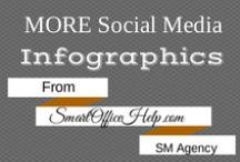 Infographics - Social Media Inforgraphics / Learn to grow your business using theses Social Media Infographics . Don't forget to pin them to your boards for later.