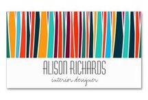 Trendy Business Cards / Great colors and modern design