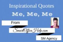 Inspirational Quotes / Everybody needs a little inspiration.  Here are some quotes that inspirted me.  #InspirationalQuotes