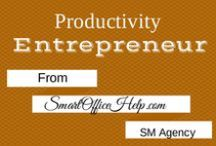 Business Productivity Tips - Office Productivity Tips / We are always looking for better ways to be more productive with are work days so we can be more profitable.  That's why we are loading up this board with business productivity tips and office productivity tips to get & keep the ball rolling.  Follow this board if you want that too.  You can also head over to http://SmartOfficeHelp.com/blog for more social media tips, tools & resources to grow your online networks using social media.