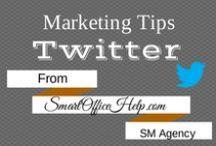 Tips - Twitter Tips for Business Marketing / I'm a huge fan of using Twitter for Business Marketing.  I'm always on the hunt for fantastic tips to boost not only my business social media strategy, but my clients. Learn to increase your Twitter following. Also learn to build meaningful relationships. Follow this board for more Twitter Business Marketing Tips or head over to http://SmartOfficeHelp.com/blog for more resources to grow your networks using social media.