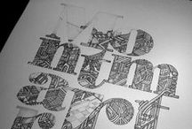 The Art of the Letter. / Inspirational typography.