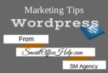 Tips | WordPress Tips for Business / WordPress is the leading CMS or Content Management System for bloggers.  It goes beyond blogging and you can create a fantastic and profitble site using the WordPress platform. Follow this board for more WordPress tips for busienss and join our community at http://SmartOfficeHelp.com/aes