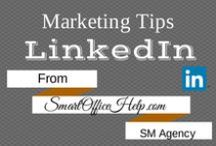 Tips - Linkedin Tips for Business Marketing / LinkedIn is a professional social media network where connections mean dollars.  It is prudent to haave your LinkedIn profile optimize to stay ahead of the competition and make strong connections.  We have fantastic tips to do just that on this board.  Follow and know that there are more tips, tools & resources at Http://SmartOfficeHelp.com/blog
