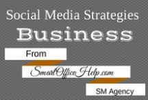 Social Media Strategies For Business - Social Media Business Tips - Social Media Tips / A great entrepreneur uses great tips, tools and resources to connect with their target audience. Social media networks provide the venue to fully engage your fans & followers.  Here are some  Social Media Strategies for business owners who want to grow their networks using social media.  More at SmartOfficeHelp.com your Orlando Social Media Agency