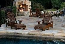 Concrete Patio Idea Board / A stamped concrete patio is the perfect complement to any homescape.