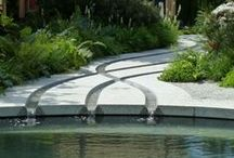 Concrete Water Feature Idea Board
