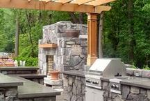 Outdoor Kitchen Idea Board