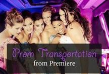 PROM / We love to help you celebrate your special day. Arrive in style with everyone enjoying the night together.