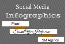Infographics - SOH Social Media Resources / We at Smart Office Help love to share.  Feel free to post these infographics on your website or simply share with your loyal following on social media.  It's Free. Note: I would appreciate it if you don't alter any of the images and that they retain their original links.  Thanks.  See ya on the Pin Board.