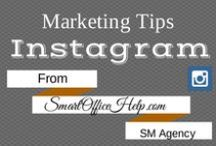 Tips - Instagram for Business Marketing / Instagram can be used for business as well as pleasure.  Follow this board to get Instagram Tips for Business.  There is no time like the present to up your social media marketing game then by using Instagram for Business.  Check back often for new pins. There is more tips, tools & resources at http://SmartOfficeHelp.com/blog