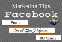 Tips - Facebook Tips for Business Marketing / Facebook is the ultimate powerhouse in the social media world.  It is not only used for personal use but also for business.  This board is focused on Facebook Marketing Tips & Facebook Business Tips.  Make sure you follow this board for more inspiring Facebook Business Tips. Get more Facebook Tips at http://SmartOfficeHelp.com
