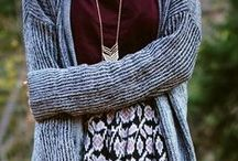 Fall / Winter fashion / Cozy outfits to stay warm in the Fall and Winter ♥