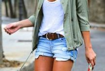 Spring / Summer Fashion / Cute Spring and Summer outfits