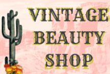 Vintage Beauty Shop / Vintage Salon decor and design