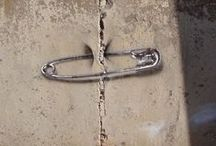 street art,metal art,stone art