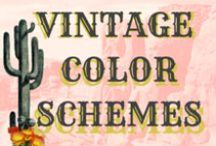 Vintage Color Schemes