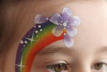 face painting and make up