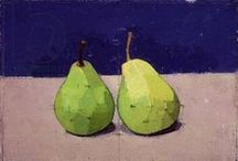 PEARS, Painted that is... / pears depicted in art