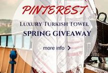 Win a Luxury Turkish Towel this Spring! / We're giving away 5 Luxury Turkish towels. Start pinning to be one of the lucky winners! To enter, follow us on Pinterest and show us what you'll be doing to redecorate this spring by repining up to 5 fabulous pins. Using hashtags#urbanloftonline #spring2016. The lucky winners will be chosen at random and announced* on May 20, 2016. Need inspiration for your pins? Check out our favorite picks. Entrants must pin on or before May 18, 2016 so get pinning!