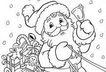 Χριστουγεννιατικες ζωγραφιες για παιδια