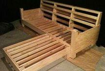 κατασκευές με ρόδες, ξύλα και παλέτες
