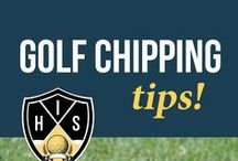Golf Chipping Tips / >>Discover proven methods for hitting solid chip shots around the greens that result in more pars. Learn simple, proven golf chipping tips that work and lead to lower scores every round you play>> Golf chipping tips, Golf chipping, Golf short game, Golf wedge play, Golf pitching tips, Golf pitching, Golf chip and run, Lower golf scores, Golf chip shots, Golf chipping training, Golf chipping drills
