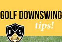 Golf Downswing Tips / >>Discover the secret to making a great golf downswing and making great contact with the golf ball. Learn the right positions to be in that guarantee better golf and lower scores>> Golf downswing tips, Golf downswing, Downswing in golf, Golf swing impact, Golf downswing drills, Golf downswing position, Golf downswing training, Golf sequence, Golf transition