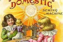 vintage sewing cards / by Hanneke Verstraate