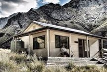 Backcountry huts / DOC manages a network of over 950 huts of all shapes and sizes and we're on a mission to pin them all. #dochuts