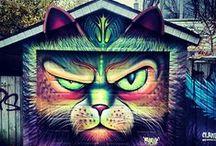 streetart / art / by Daniela Maier