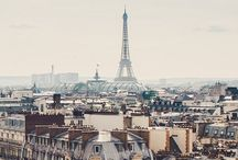 In love with cities... Paris / There is beauty everywhere / by Susie Amador