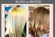 KOLORY WLOSY 2014 | Bronde / #ModneKolory #Włosy #Bronde To idealny kompromis pomiędzy blond i brązem. Miks pasemek i refleksów utrzymany w odcieniach miodowym, orzechowym. Znudziłą Ci się Twoja #Fryzura, chcesz coś nowego i modnego. Zmień kolor włosów! Jeśli dla Ciebie blond jest za jasny a brąz za ciemny to w tym roku zrób sobie BROND!  zarezerwuj termin: https://www.facebook.com/sekretnikurody zapraszam Joanna Prymaczuk | Fryzjer Szczecin