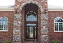 Brick Archways / Arches have been around for thousands of years. Brick, too, is timeless, and brick archways add character, beauty and value to any brick home.