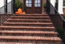 Walkways and Step Treatments / Make a lasting impression with beautiful brick walkways and step treatments.