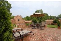 Outdoor Living / Come home to an outdoor oasis; if it's brick, it can be both beautiful and durable.