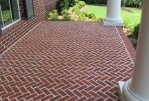 Brick Porches / Your porch should be just as special as the inside of your brick home.