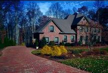 Brick Driveways / A brick driveway can be a stylish addition to your home.