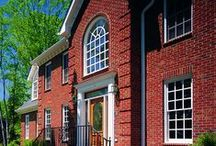 Red Brick / Red brick exudes timeless beauty.