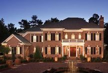 Dream Homes / Gorgeous homes built with durable brick.