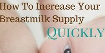 Breastfeeding Tips to Increase Your Breastmilk Supply / Hey there breastfeeding moms...Do you want an abundant supply of breastmilk?  Are you going back to work?  Learn about breastfeeding herbs and foods that can boost your supply and help you stock your freezer.