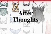 Lingerie / Just for him. Wedding night fashion.