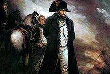 Napoleon Buonaparte / He was one of the most important men in history and his Napoleonic Code is still used.  He had many fantastic ideas - if he had not been such an ego-maniac.  But then I guess he wouldn't be the fascinating man he was. / by Sylvia Tewsley