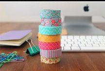 washi tape / ctrafts with washi tape.