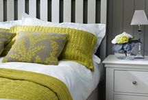 Bedroom / Lovely furniture creating comfortable bedrooms. Inspired by our home in the Cotswolds