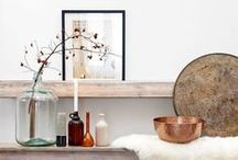 Interior Decoration Inspiration / Creating the Country Chic look...the basis of Corndell's style