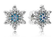 Pandora Snowflakes / Panora Snowflake Charms, Rings and Earrings