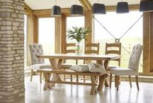 Fairford Collection / Strong oak pieces perfect for country style interiors