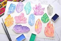 Crystals - Inspiration Pack