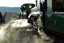 Ride a Steam Train in Snowdonia / There are lots of steam trains to visit within around 30 minutes drive of Cadair View.